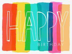Margaret Berg Art: Happy+Birthday+Stripes