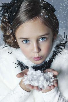 Russian child model Sofia Pestryakova.