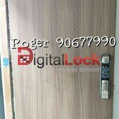 MyDigitalLock selling Samsung Digital Lock for HDB Door and Condo Laminate Door unlock Using Smartphone and WI-FI in Singapore / Bukit Batok / 9161 6282 Digital Lock, Door Locks, Smart Home, Singapore, Wifi, Gate, Connect, Samsung, Doors