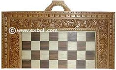 CARVED CHESS SETS - HANDICRAFTS [ EXPORT BALI ]
