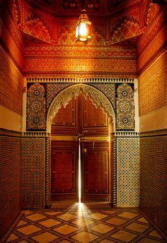 Bahia Palace in Marrakech, Marocco