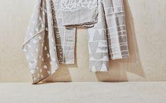 Printed Linen Tea Towels (Natural) – Hawkins New York