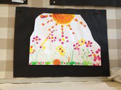 Spring Flowers Grade 3, Spring Flowers, Tie Dye, Women, Art, Craft Art, Kunst, Tye Dye, Spring Colors