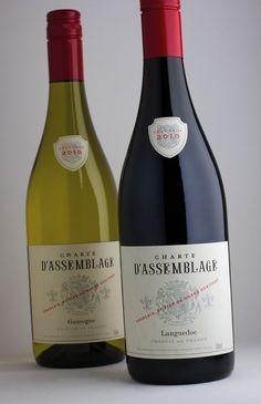 Charte d'Assemblage – classic French duo  #taninotanino #vinosmaximum