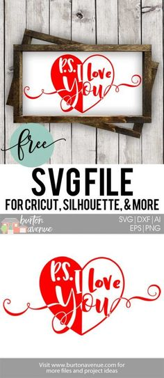 Free SVG files to use with your Silhouette or Cricut cutting machine. These files are great for all types of projects like signs, tshirts, pillows, & more. Valentines Day Decorations, Valentines Diy, Valentine Images, Valentine Cookies, Valentine's Day Quotes, Silhouette Cutter, Silhouette Cameo, Cricut Tutorials, Cricut Ideas