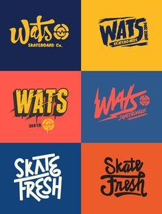 Various Type/ Logos 1 on Behance