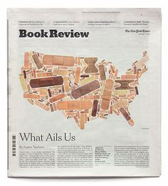 Illustration by Michael Bierut for the cover of the January 11, 2015 issue of The New York Times Book Review.