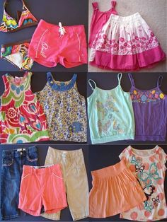 Girls 13 Piece Size 12- Lg/Xl The Childrens Place Justice O'Neill Roxy Lot