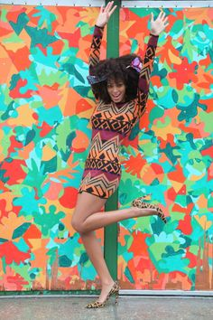 Solange | Gorgeous pop colours! We are very inspired by outfit... visit us at www.melko.com.au!