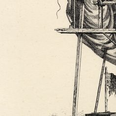 #by #FabrizioClerici #Clerici #Monumento in #Costruzione #1946 #litografia su #due #pietre 262x205 mm #CaPesaro #Galleria #Internazionale #ArteModerna #Venezia #Monument #under #construction 1946 #lithograph on #two #stones 262 x 205 mm #Museum #Italy #Surrealism #surraalisme #art #arte #graphique #900 #hifructosemag #illustration