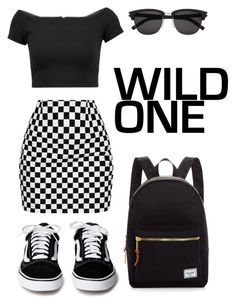 """""""Wild One"""" by tinydancer1175 on Polyvore featuring Alice + Olivia, Yves Saint Laurent and Herschel Supply Co."""