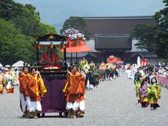 Aoi Festival in Kyoto. May 16th,2012.
