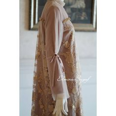 Image may contain: one or more people Modest Fashion, Hijab Fashion, Women's Fashion, Kebaya Lace, Hijab Dress, Wedding Engagement, Bridesmaids, Kimono Top, Navy Blue