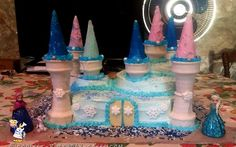 Frozen Themed Castle Cake... Coolest Birthday Cake Ideas