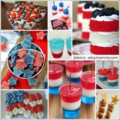 Celebrate Independence Day with these fun & festive 4th of July recipes! These kid-friendly food ideas are great for a bbq or at home.