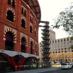 Shopping mall Las Arenas, Barcelona (Spain)