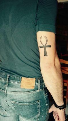 Anj, cruz de la vida, cruz egipcia #tattoo #anagodoy