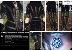Yennefer - Official reference