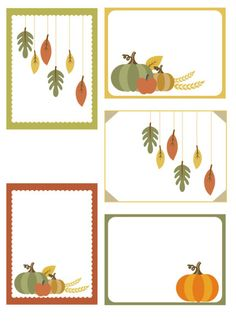 Free Fall/Autumn theme printable Project Life cards from scrappystickyinkymess Mini Albums, Papel Scrapbook, Scrapbook Layouts, How To Make Scrapbook, Art Cart, Project Life Cards, Thanksgiving, Pocket Scrapbooking, Paper Crafts