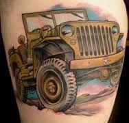 Jeep tattoo Jeep Tattoo, Truck Tattoo, Jeep Jk, Jeep Wrangler, Tropical Flower Tattoos, David Tattoo, Jeep Brand, Custom Jeep, Cool Jeeps