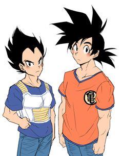 Vegeta & Goku