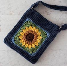 Crochet Handbags, Crochet Purses, Crochet Bags, Knitted Bags, Crochet Cross, Cute Crochet, Crochet Mandala, Yarn Projects, Crochet Projects
