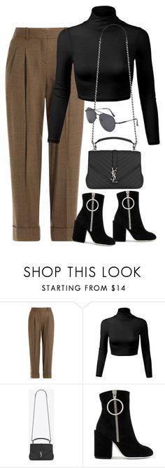 """""""Sem título #1461"""" by oh-its-anna ❤ liked on Polyvore featuring Michael Kors, Yves Saint Laurent and Off-White"""