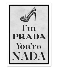 This 'You're Nada' Print is perfect! #zulilyfinds