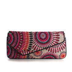 Urban Expressions Delilah Clutch ($30) ❤ liked on Polyvore