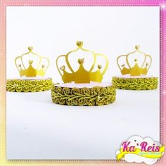 Latinha 3d luxo - Reinado/Coroa
