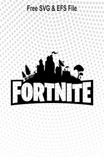 Free Download Fortnite SVG Cut File #FreeSVG #cricut #decal #cameo