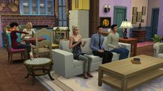 """Someone Recreated All Of """"Friends"""" In """"The Sims 4"""" And It Is Perfect"""