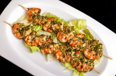 Grilled Pesto Shrimp Skewers - Recipes, Dinner Ideas, Healthy Recipes & Food Guide