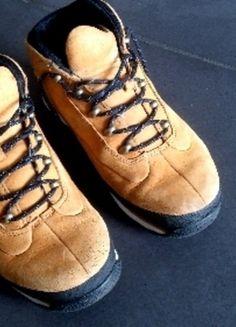 Kaufe meinen Artikel bei #Mamikreisel http://www.mamikreisel.de/kleidung-fur-jungs/halbhohe-stiefel/17012599-timberland-schuhe-33-winter-stiefel-wander-leicht-cool-gelb
