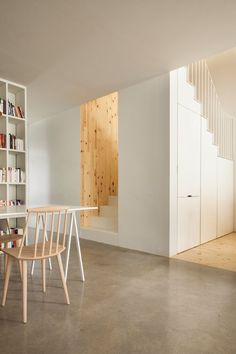 Folded Steel Plate Staircase • Clark Residence • Montreal • la SHED • 2015