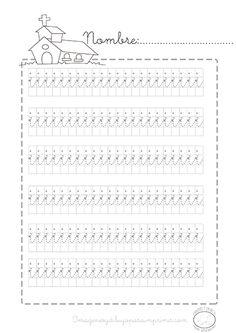 #caligrafia #imprimibles #gratis vocal i preescolar