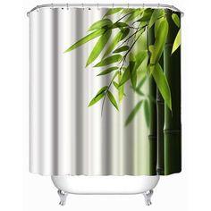 Zen Bamboo Shower Curtain 200cm
