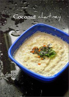 Coconut chutney http://www.upala.net/2015/05/coconut-chutney.html