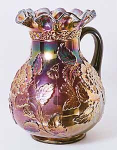 Carnival Glass Pitcher / Rambler Rose, perfect! #LGLimitlessDesign #Contest