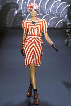 Anna Sui Spring 2008 Ready-to-Wear Fashion Show - Agyness Deyn