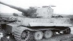 Tiger № 212 from 503 sPA, 1944, near Uman (Ukraine)