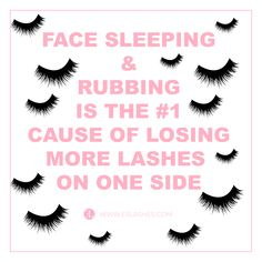 Lash Tips Rubbing Sleeping on face lash extensions Face Care Tips, Beauty Tips For Face, Best Lash Extensions, Eyelash Extensions, Semi Permanent Lashes, Permanent Makeup, Lash Perfect, Eyelash Extension Supplies, Makeup Tips For Brown Eyes