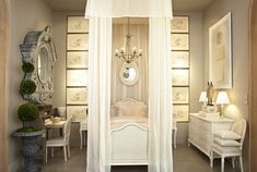 beautiful french little girls rooms   would have LOVED this room as a little girl. I love the play on ...