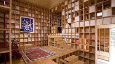研究者や本の蒐集家向け! どこもかしこも四角四角四角な家! : ギズモード・ジャパン