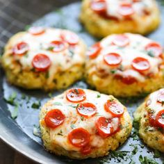 These mini cauliflower pizzas are the perfect healthy upgrade to ...