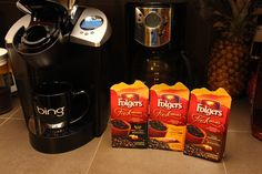 Me and coffee are like Peanut butter and jelly. I can't keep the kitchen stocked in the stuff because I'm always drinking it. The makers of Folgers® Coffee are thrilled to introduce new Folgers Fresh Breaks™ Roasted Concentrated Coffee as part of their family of delicious and innovative products. Made with ultra-fine ground