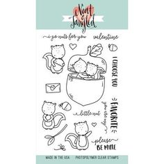 Shop for Neat & Tangled Clear Stamps Favorite Nut - my favorite nut. Get free delivery On EVERYTHING* Overstock - Your Online Scrapbooking Shop! Neat And Tangled, Embroidery Transfers, Friends Hot, Vintage Embroidery, Digi Stamps, Ink Pads, Clear Stamps, Sewing Crafts, Card Making