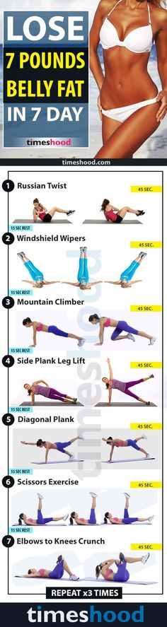 Great home workout for toned abs #abs #workout #focusfitness