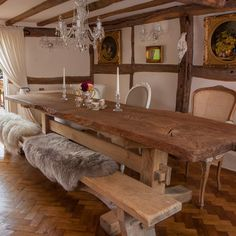 If you are a fan of rustic oak dining tables, our Good Girls Oak Refectory Table will create the perfect centrepiece for your dinner parties. #Portwoodstudio
