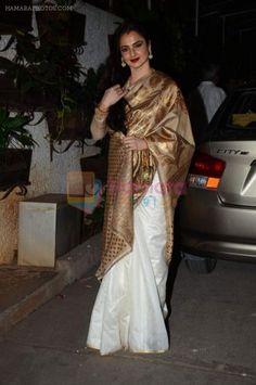Rekha saree is just cool